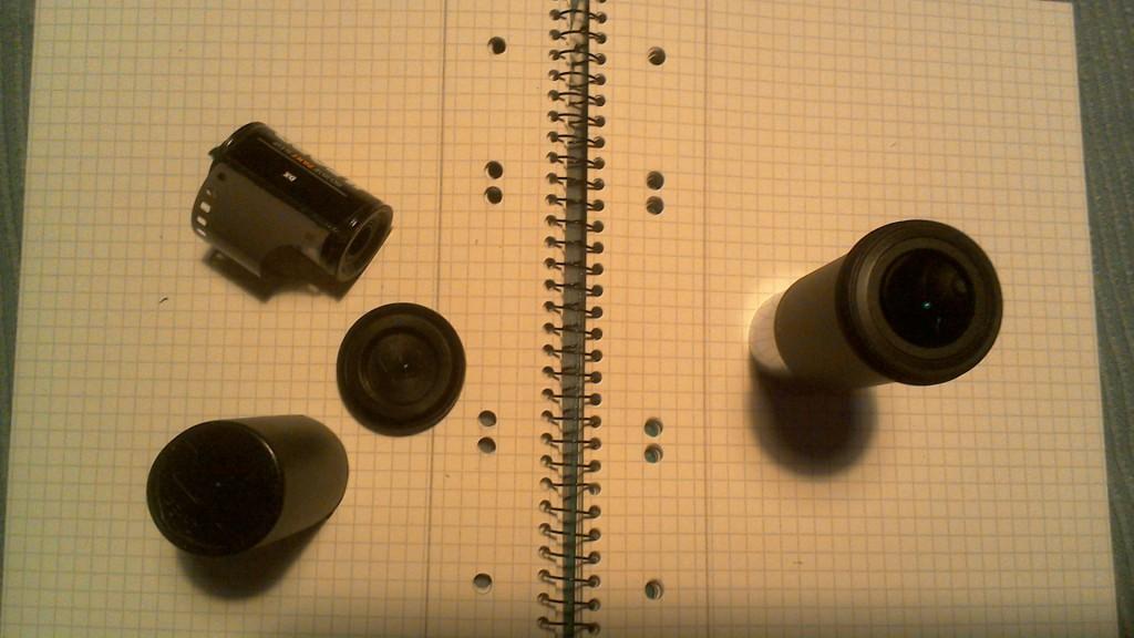 Kurzbrennweitiges Zoomokular für Arme (DIY Zoom Eyepiece)
