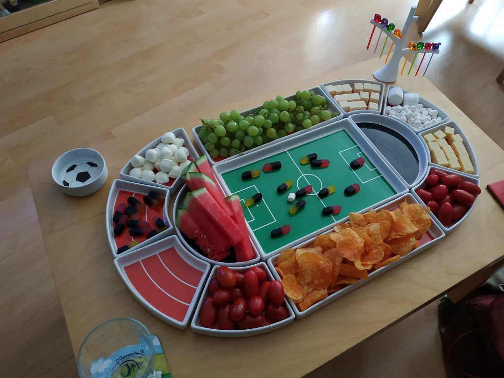 Fußball Stadion, Snacks & Cocktails!<br />Soccer snacks & cocktails!